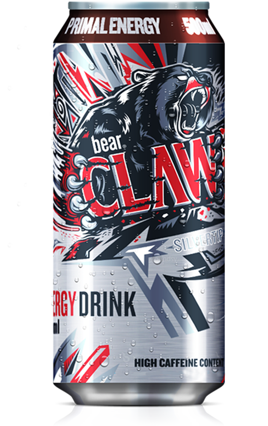 Bear Claw Energy Drink